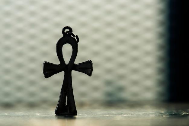 Closeup, de, crucifixos Foto gratuita