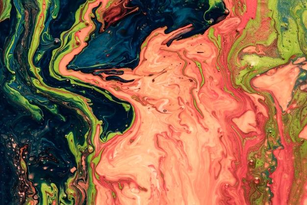 Closeup de fundo abstrato pintura Foto Premium
