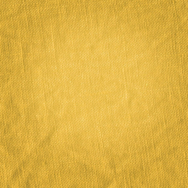 Closeup de tecido de cor mostarda Foto Premium