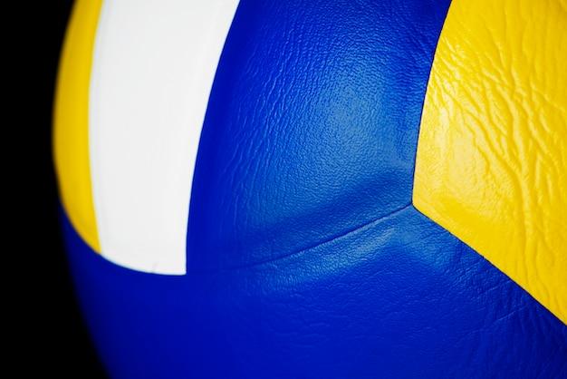 Closeup de voleibol Foto gratuita