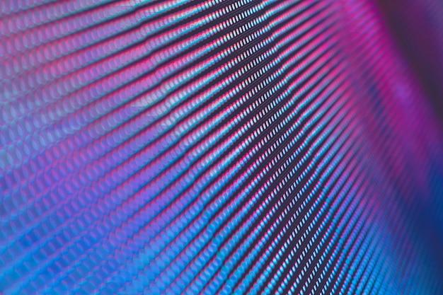 Closeup led tela borrada. fundo de foco suave led. abstrato ideal para o projeto. Foto Premium