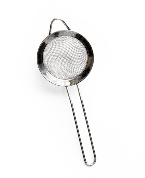 Coador de cozinha em metal Foto Premium