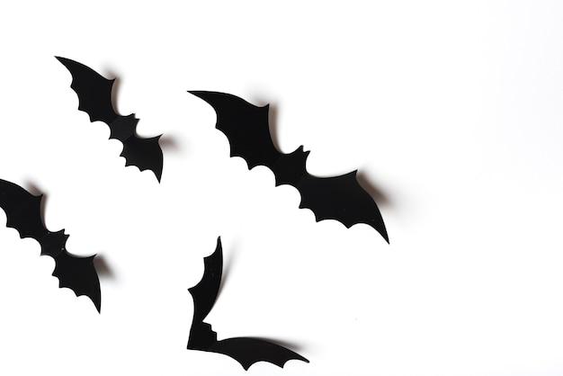 Coleção de morcegos assustadores Foto gratuita