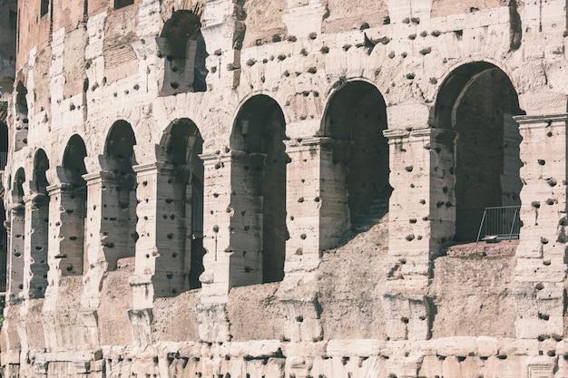 Coliseu em roma Foto Premium