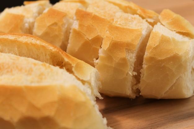 Comida brasileira. pão brasileiro crocante Foto Premium