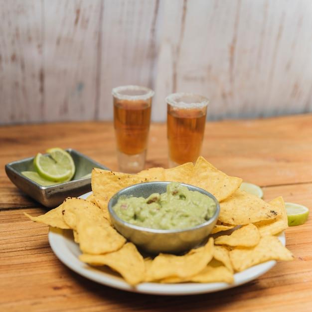 Comida mexicana Foto gratuita