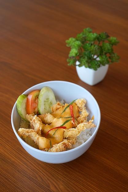 Comida tradicional de bandung, na indonésia. Foto Premium
