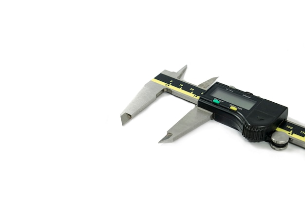 Compasso de calibre e régua vernier eletrônica digital Foto Premium