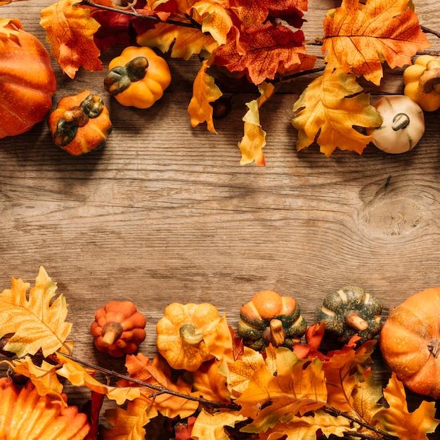 Composição colorida do outono Foto gratuita
