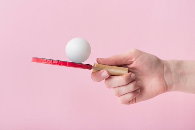 Composição de esporte moderno com elementos de ping pong Foto gratuita