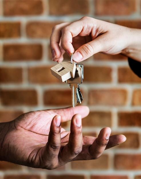 Comprando o conceito imobiliário Foto Premium