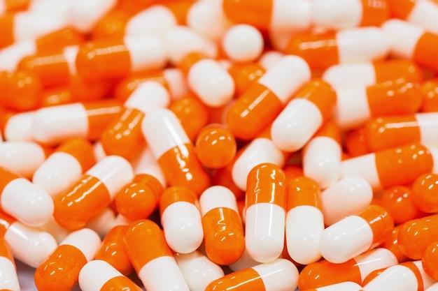 Comprimidos da medicina Foto gratuita