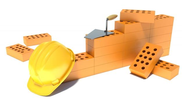 Conceito da indústria da construção civil Foto Premium