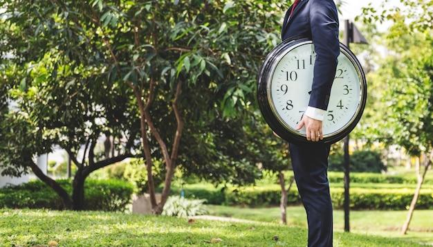Conceito da organização da programação da gestão do sincronismo de tempo Foto gratuita