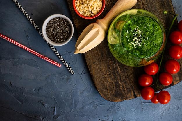 Conceito de alimentos orgânicos Foto Premium