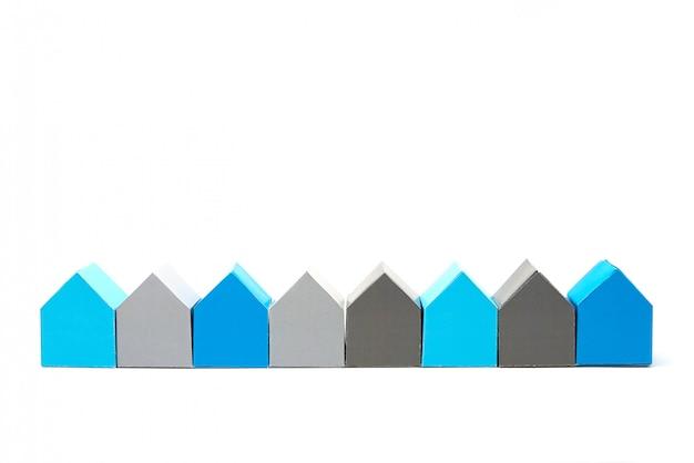 Conceito de casas, procurando a casa ideal Foto Premium