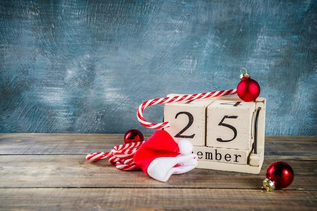 Conceito de celebração de natal Foto Premium