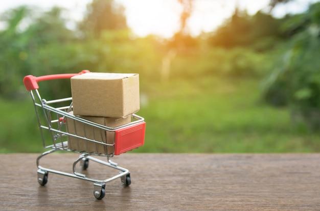 Conceito de compras Foto Premium