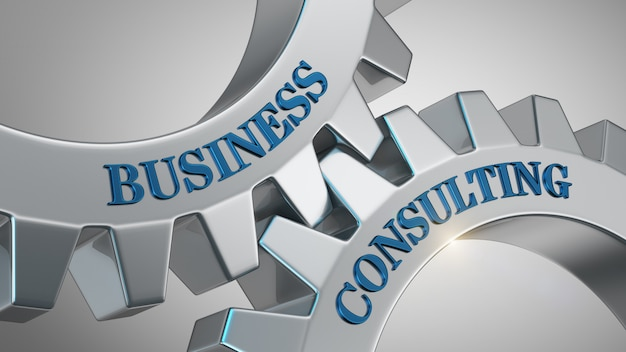 Conceito de consultoria de negócios Foto Premium