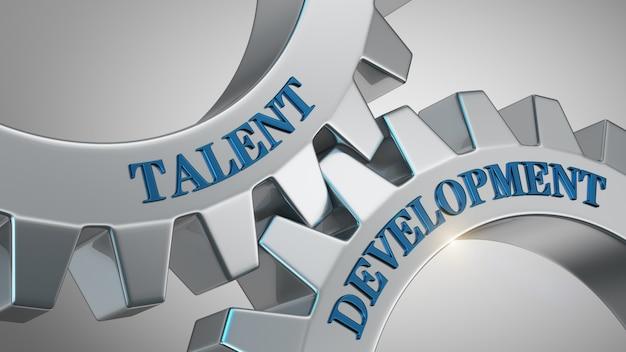 Conceito de desenvolvimento de talentos Foto Premium