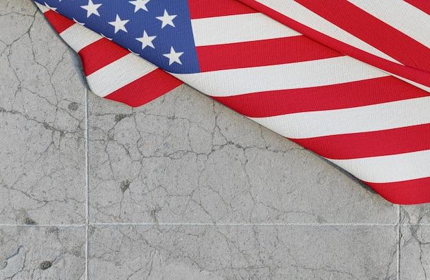 Conceito de eleições americanas com espaço de cópia Foto Premium