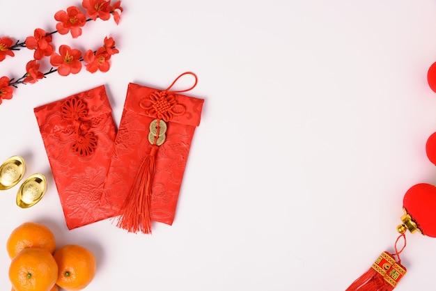 Conceito de festival do ano novo chinês Foto Premium