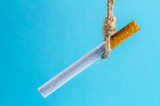 Conceito de fumar Foto Premium