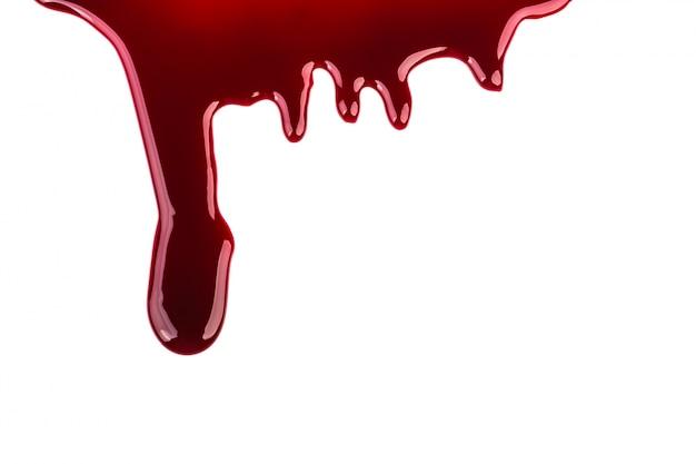 Conceito de halloween: o gotejamento do sangue Foto gratuita