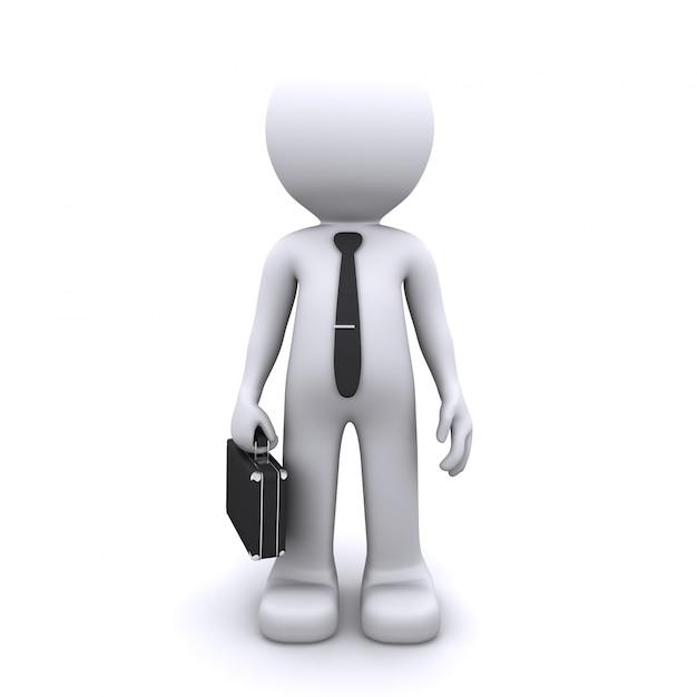 Conceito de homem de negócios Foto Premium