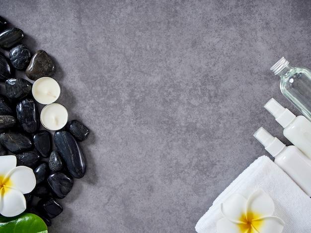 Conceito de massagem spa e cuidados com a pele Foto Premium