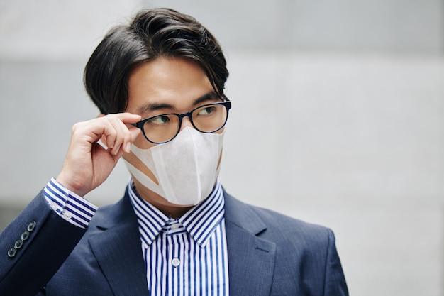 Conceito de poluição do ar Foto Premium