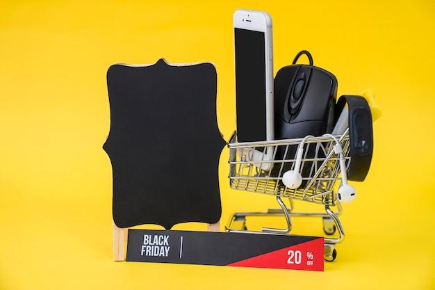 Conceito de venda de sexta feira negra Foto gratuita