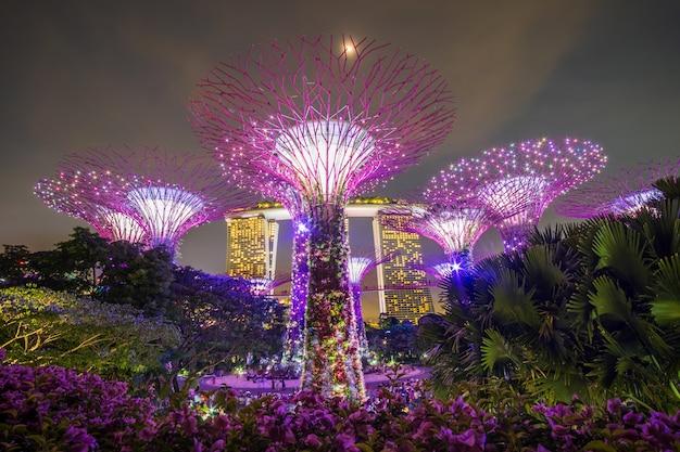 Conceito de viagem de singapura Foto Premium