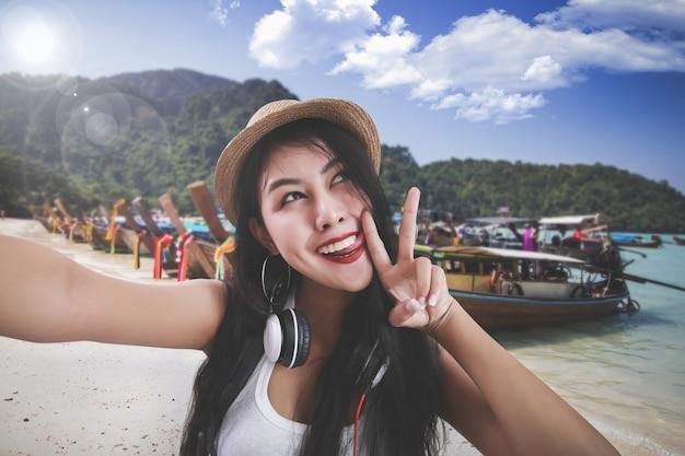 Conceito de viagens tailândia Foto gratuita