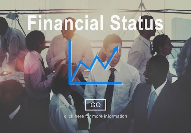 Conceito do planeamento do débito do crédito do orçamento do estado financeiro Foto gratuita