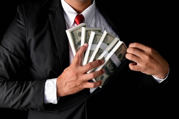 Conceitos de negócios de finanças. Foto Premium
