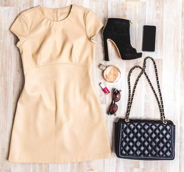 Conjunto de roupas de verão Foto Premium
