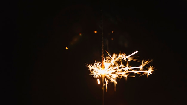 Conjunto de sparklers Foto gratuita