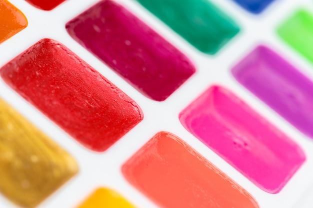 Conjunto de tintas aquarela Foto Premium