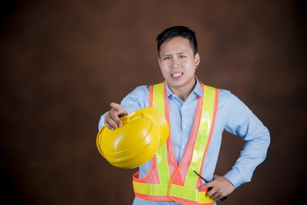 Construção, conceito de trabalho de engenharia Foto gratuita