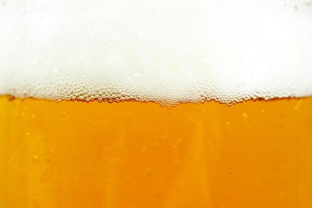 Contexto de cerveja e espuma Foto gratuita