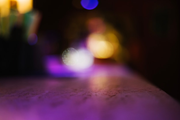 Contra-superfície no bar Foto gratuita