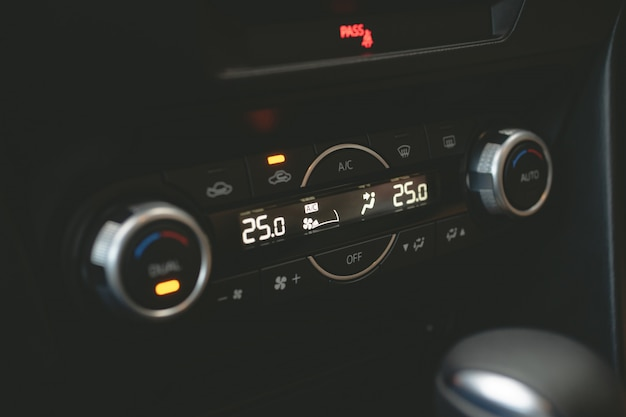 Controle de botões de ar Foto Premium