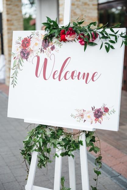 Convite de casamento elegante Foto gratuita