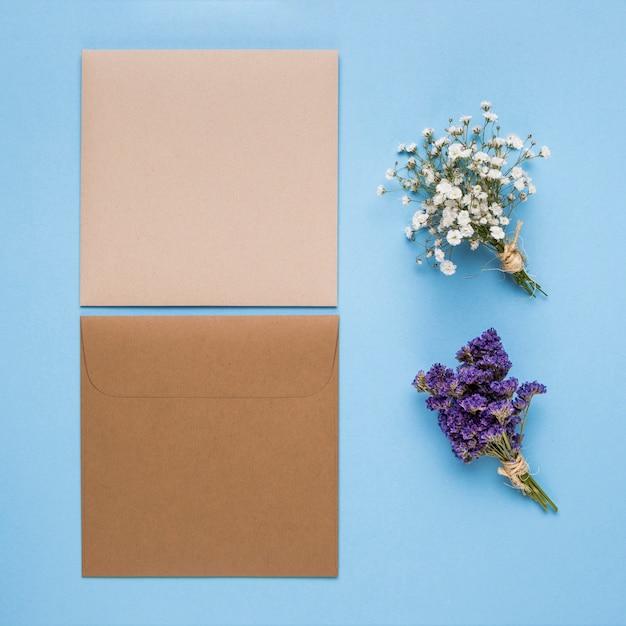 Convites de casamento lindo minimalista Foto gratuita
