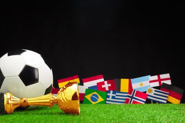 Copa do mundo, rússia 2018 Foto Premium