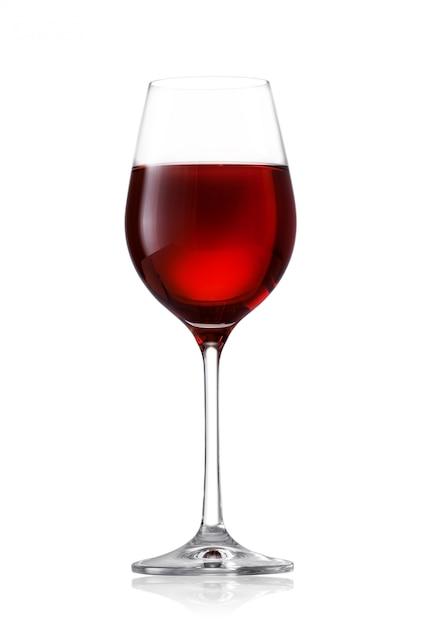 Copo de vinho tinto Foto Premium