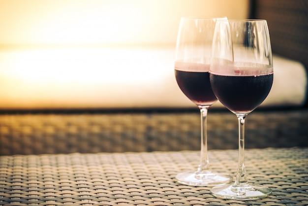 Copo de vinho Foto gratuita
