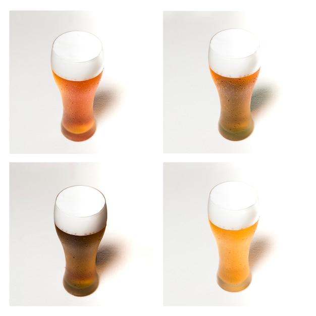 Copos de cerveja Foto gratuita