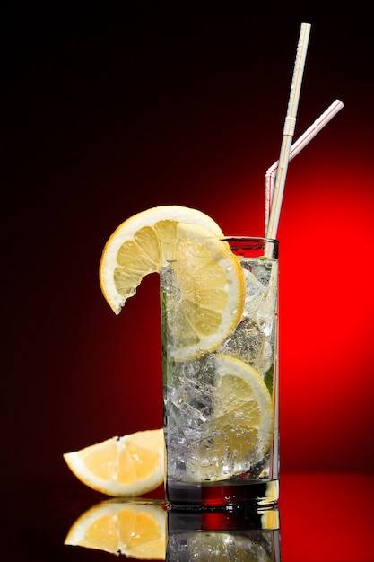 Coquetel de limão Foto Premium